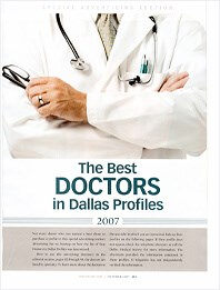 D Magazine Top Doctors 2009