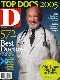 D Magazine Top Docs Dallas Plastic Surgeon Steven White MD