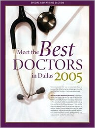 D Magazine Top Docs 2005 Dallas cosmetic surgeons