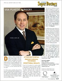 Texas Monthly Texas Super Docs 2005 - Including plastic surgeon Steven White MD