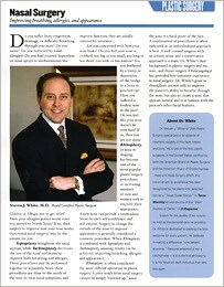 Texas Life magazine featuring Dallas plastic surgeon Dr. White