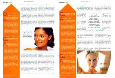 D Magazine featured plastic surgeon Steven J White MD